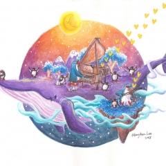 A-Musical-Whale-Adventure-2018-penguin-music-art-illustration-MaryAnn-Loo