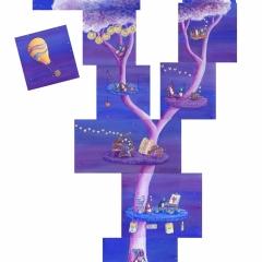 Lovebirds-Dream-Tree-penguin-home-painting-art-illustration-MaryAnn-Loo