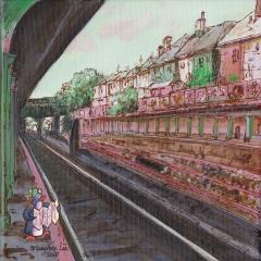 Waiting-2016-penguin-subway-art-illustration-MaryAnn-Loo