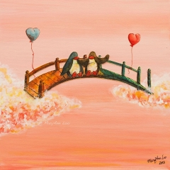 bridge-penguins-heart-balloon-friendship-connection-MaryAnn-Loo