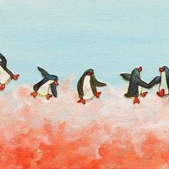 dance-like-no-one-watching-penguins-cloud-MaryAnn-Loo
