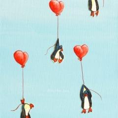 rise-dreamers-heart-balloons-penguins-MaryAnn-Loo