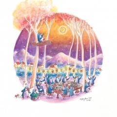 Party-in-the-Park-2018-penguin-birthday-art-illustration-MaryAnn-Loo