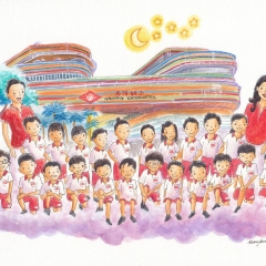 Nanyang Kindergarten-2018-children-school-commission-art-illustration-MaryAnn-Loo