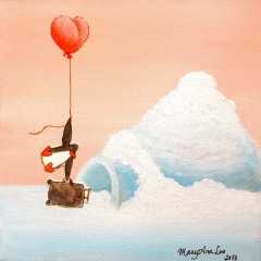 baggage-penguin-igloo-heart-balloon-MaryAnn-Loo