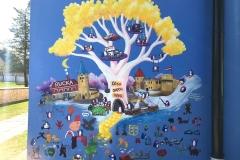 The-Cesis-Dream-Tree-2019-Latvia-penguin-art-mural-painting-MaryAnn-Loo