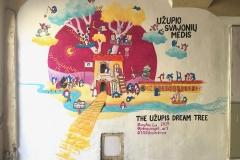 The-Užupis-Dream-Tree-2019-Vilnius-Lithuania-art-mural-painting-MaryAnn-Loo
