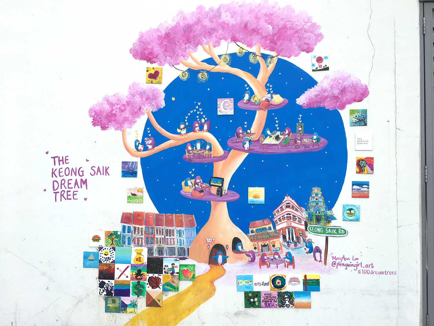 "No. 2: ""The Keong Saik Dream Tree"" (2019)"